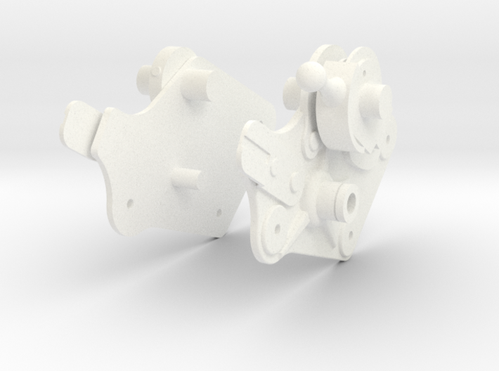 Lunar Module Rotation Control Arm Connectors 3d printed
