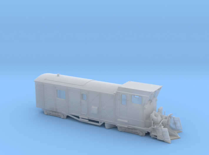 HSB Schneeschleuder LSF 071 Spur Nm (1:160) 3d printed