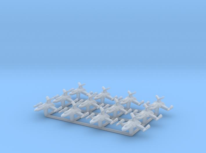 (Armada) 12x Razor Starfighter 3d printed