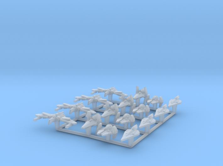 (Armada) Republic Fighters Set I 3d printed