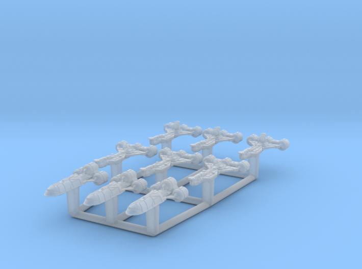 Consular Transport Set (1/7000) 3d printed