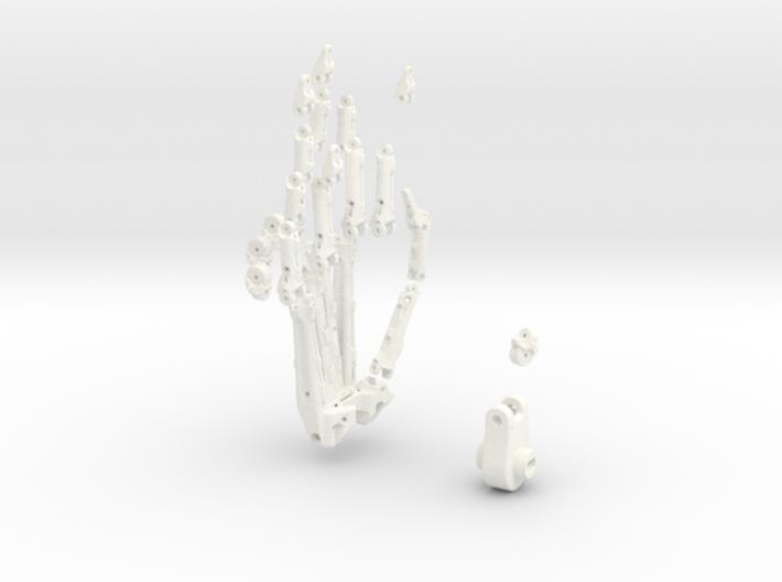 Animatronik Hand rechts 3d printed