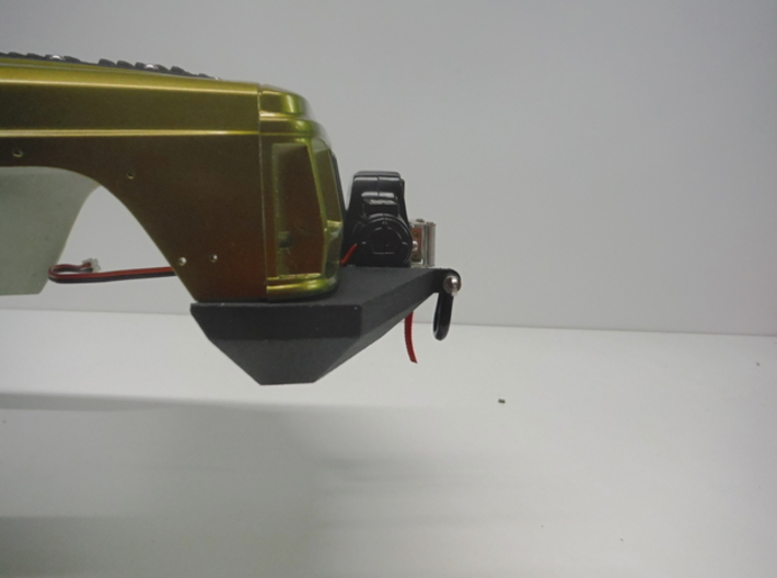 1:10 Scale Jeep Cherokee (XJ) Front Winch Bumper 3d printed