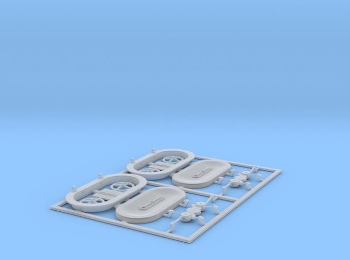 Schott Typ-G in 1:40 (2 Stück) 3d printed