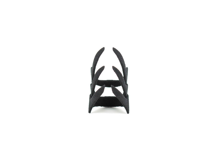 Obey Midi Ring 3d printed