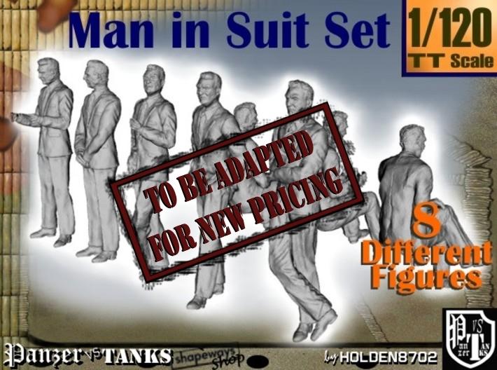 1-120 Man In Suit SET 3d printed