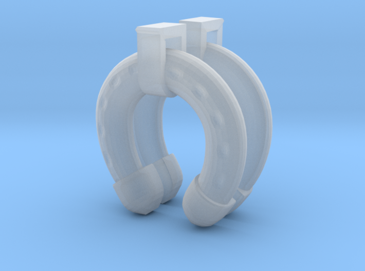 1/35 Uboot Horse Type Life Preserver With Mount 3d printed