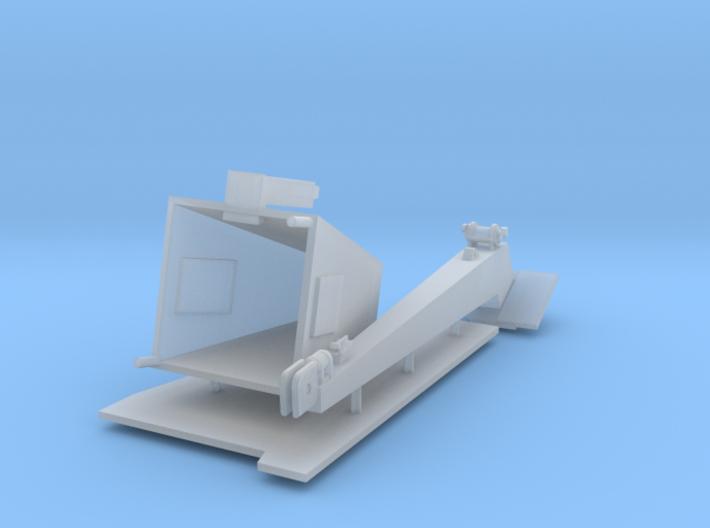 1/144 Burke Crane - Square 3d printed