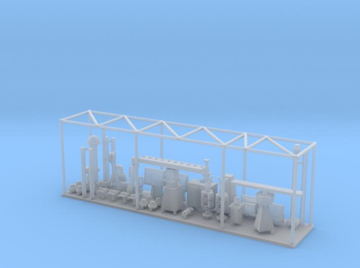1/144 Burke Mast Details 3d printed