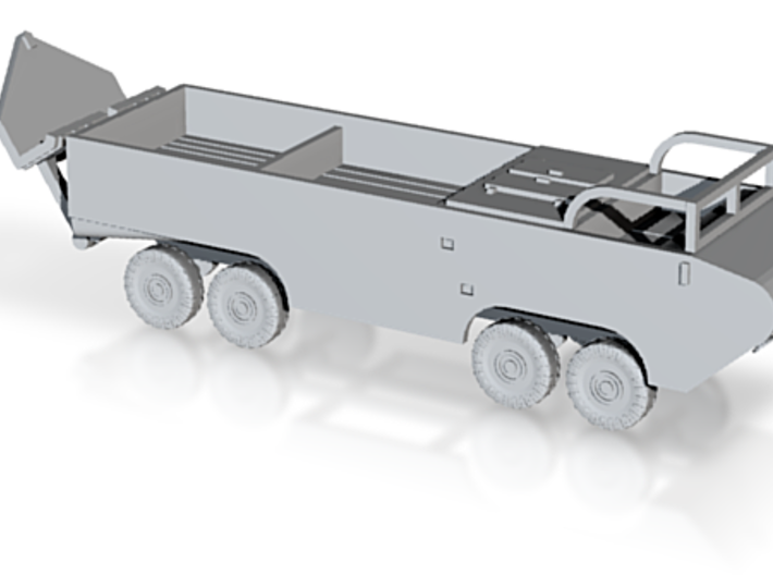 1/144 German 4x4 truck with spade 3d printed