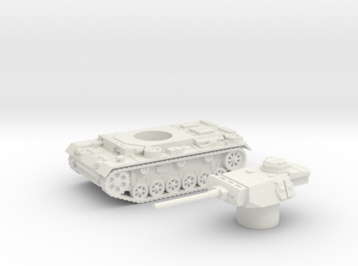 Panzer III L (Germany) 1/87 3d printed