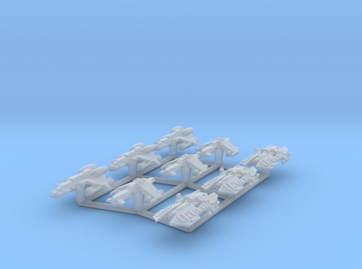 (Armada) Black Sun Fighters Set 3d printed
