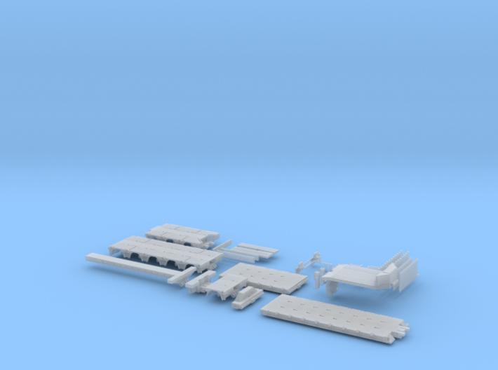 Tieflader ähnlich Doll Panther 3 + 1 + 5 FTG 3d printed