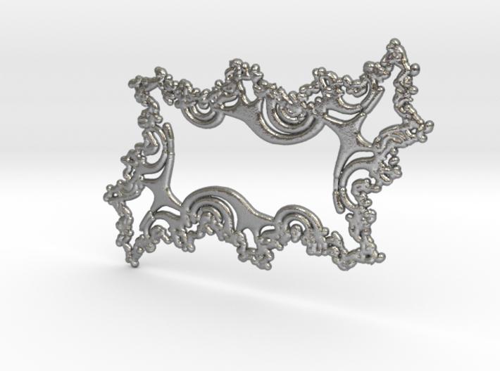 Feng Shui Talisman - Raw Silver 3d printed