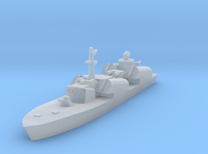 1/1250 Soviet Osa Missile Boat 3d printed