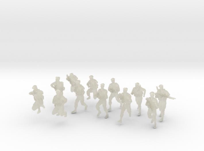 1-72 IDF BERET ADVANCE SET 3 3d printed