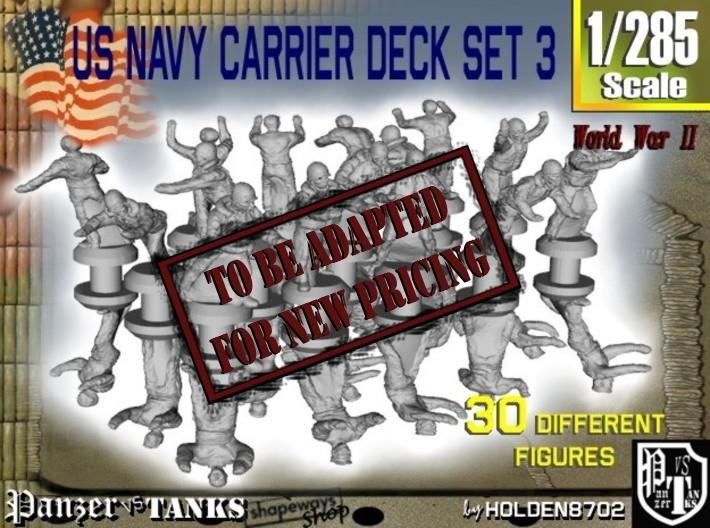 1-285 US Navy Carrier Deck Set 3 3d printed