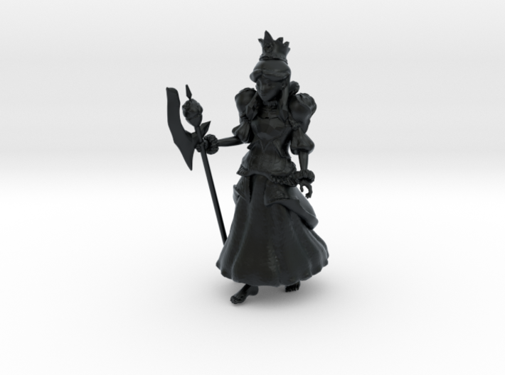 Alice, New Queen of Hearts 3d printed
