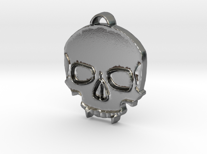 Vampire Skull 3d printed