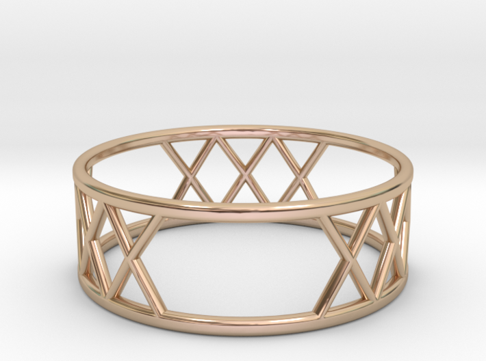 XXX Ring Size-10 3d printed