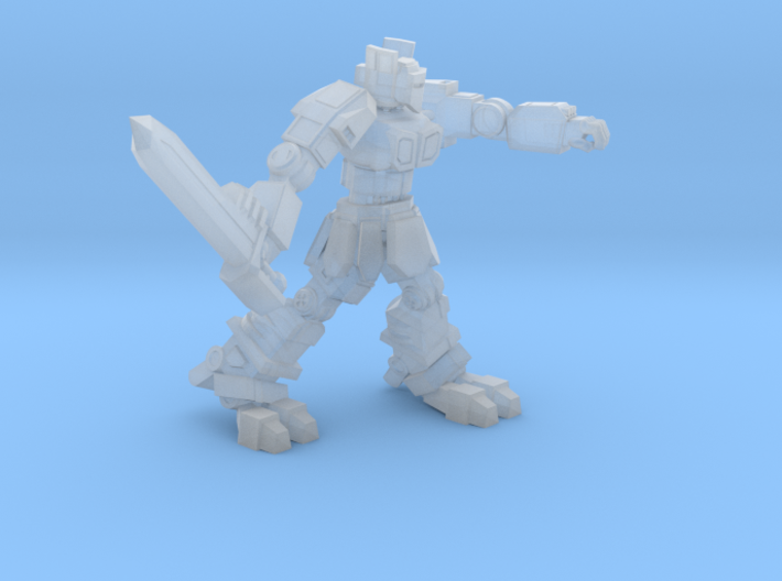 Knight K1A7 alternate pose 3 3d printed