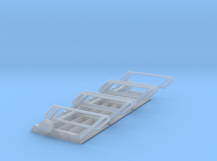 1:72 3x Stairs 5 3d printed