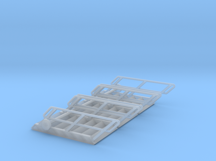 1:72 3x Stairs 7 3d printed