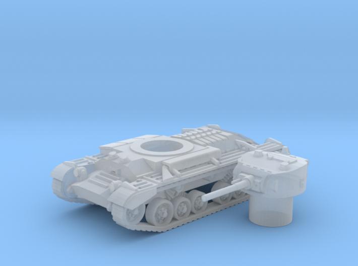 Valentine tank (British) 1/200 3d printed