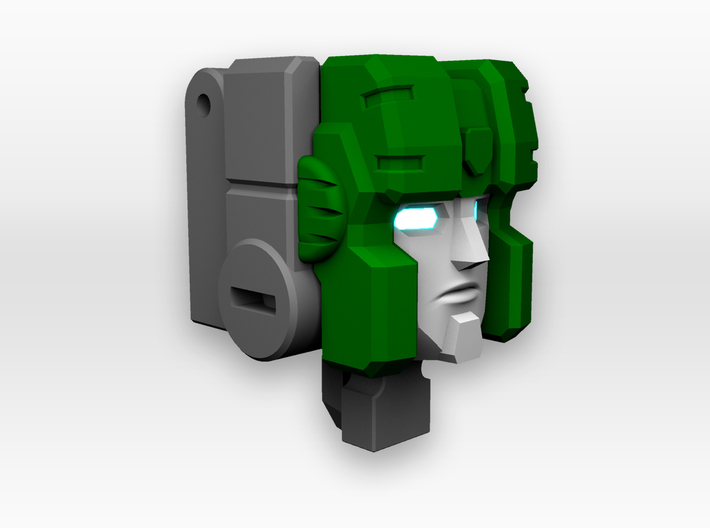 Hound Faceplate for Titans Return 3d printed