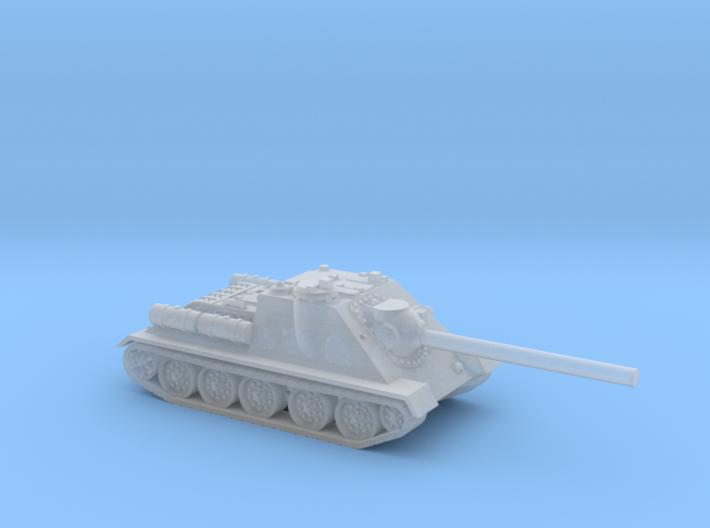 SU-85 tank (Russia) 1/144 3d printed