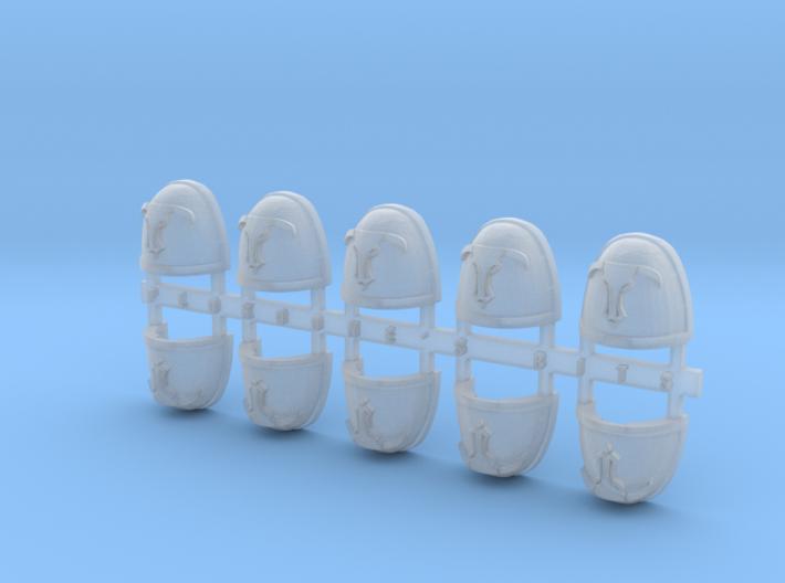 Minotaur 2 V.7 Shoulder Pads x10 3d printed
