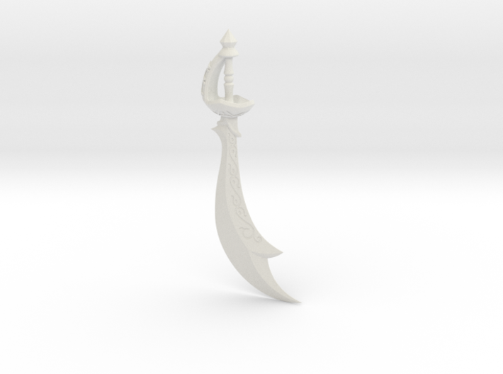 """BotW"" Scimitar of the Seven 3d printed"