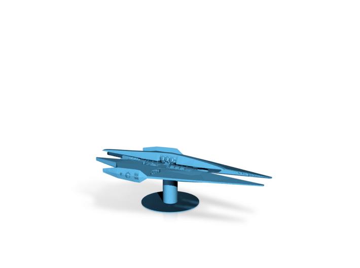 Narn - BinTak Dreadnought (4.998 x / 2.368 y / 1.4 3d printed
