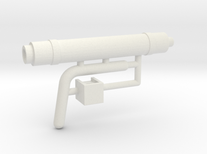1/16 Panzer IV Auxillary Exhaust 3d printed