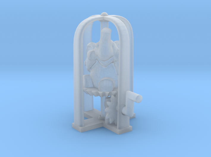 Whirling elephant 3d printed
