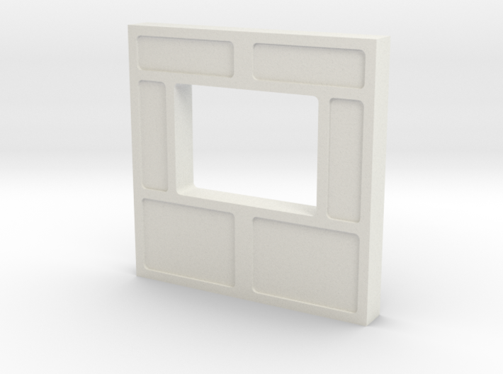 Wall, Interior, Window - Small (Space: 1999) 1/30 3d printed