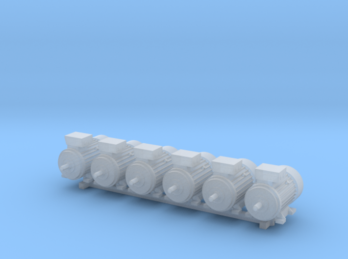 Electric Motor Size 2 (6pc) 3d printed