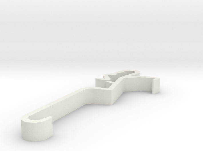 Blind Valance Clip 00149 3d printed