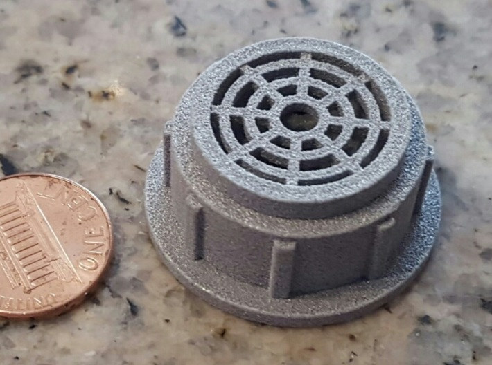 6mm x 5mm mini microphone cosplay cover 3d printed
