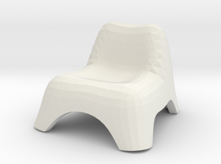 Chair, Miscellaneous 3 (Space: 1999), 1/30 3d printed