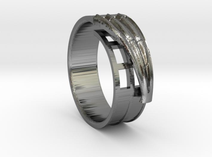 Hammershøi's window ring 3d printed