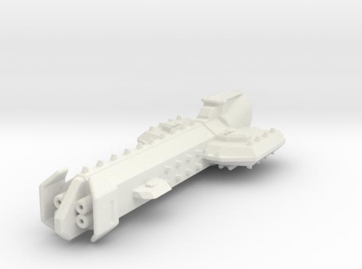 Battle Cruiser 3d printed