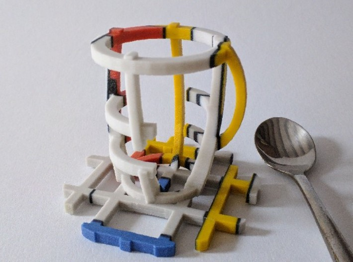 Minimalistic Espresso 3d printed Imagine the coffee