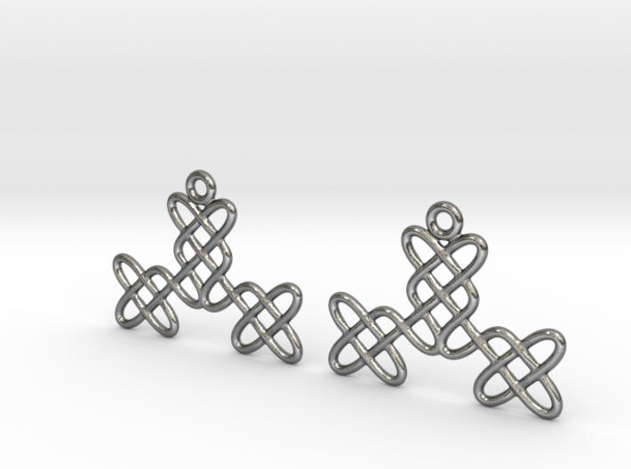 Celtic Weave Earrings - WE025 3d printed
