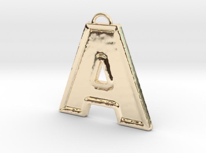 A Pendant 3d printed