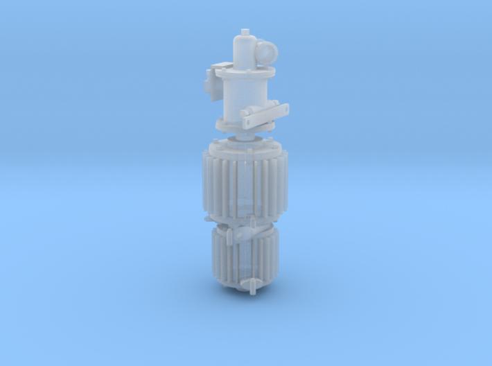 Compresseur 3D Westinghouse Ech 1/43.5 O 3d printed