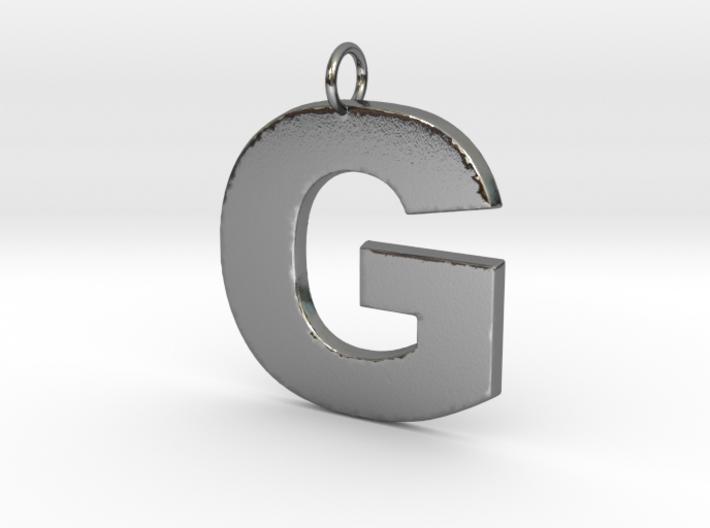 G Pendant 3d printed