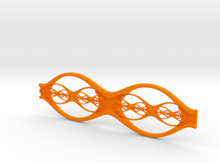 Eyeglass Frame - Stainless Steel 3d printed