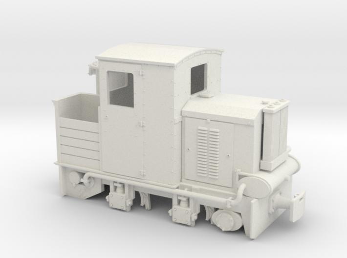 Feldbahn Holzvergaserlok SCHÖMA Spur 0f 1:45 3d printed