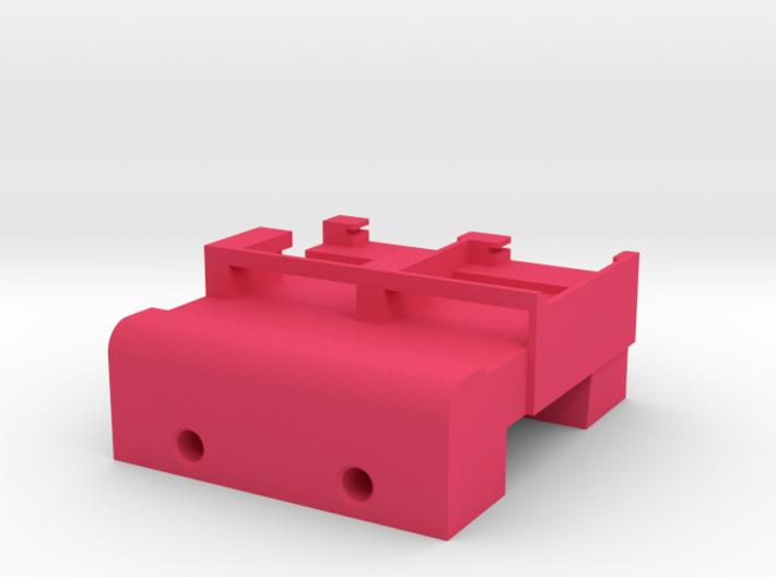 Neoden 2-Gang, 24mm feeder block 3d printed